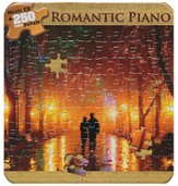 Romantic Piano (Puzzle Tin with CD)  - Slightly Imperfect