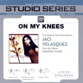On My Knees - Medium key performance track w/ background vocals [Original key] [Music Download]