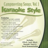 Campmeeting Songs, Volume 1, Karaoke Style CD