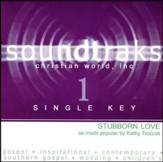 Stubborn Love (Single Key), Accompaniment CD