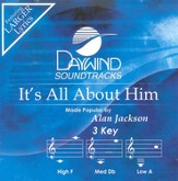 It's All About Him, Accompaniment CD