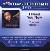 I Need You Now (Key-Ab-Premiere Performance Plus w/ Background Vocals) [Music Download]