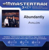 Abundantly (Key-G-A-Premiere Performance Plus w/Background Vocals) [Music Download]