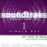 My God Is Real (Single Key), Accompaniment CD