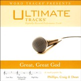 Great, Great God (As Made Popular By Phillips, Craig & Dean) [Performance Track] [Music Download]