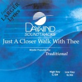 Just A Closer Walk With Thee, Accompaniment CD