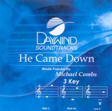 He Came Down, Accompaniment CD