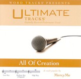 All Of Creation - Medium Key Performance Track W/ Background Vocals [Music Download]