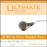 If We've Ever Needed You - Medium key performance track w/ background vocals [Music Download]
