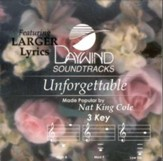Unforgettable, Accompaniment CD