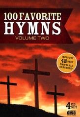 100 Favorite Hymns, Volume Two (4 CD's)