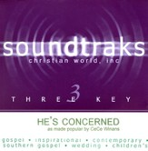 He's Concerned, Accompaniment CD