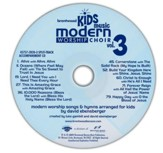 Brentwood Kids Music Modern Worship Choir Volume 3, Split-Track Accompaniment