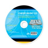 MSC Beyond the Gold: Cheer Music CD