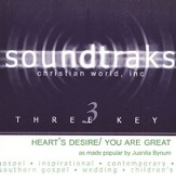 Heart's Desire/You Are Great, Accompaniment CD