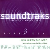 I Will Bless The Lord, Accompaniment CD