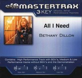 All I Need, Accompaniment CD