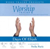 Worship Tracks - Days Of Elijah - as made popular by Twila Paris [Performance Track] [Music Download]