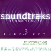My Savior, My God, Accompaniment CD