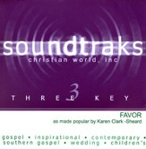 Favor, Accompaniment CD