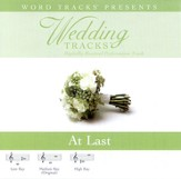 Wedding Tracks - At Last [Performance Track] [Music Download]