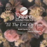 'Til The End Of Time, Accompaniment CD