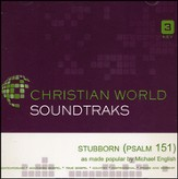 Stubborn (Psalm 151) Acc, CD