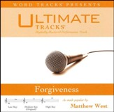Forgiveness (as made popular by Matthew West) (Performance Track) [Music Download]