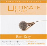 Rest Easy (Medium Key Performance Track with Background Vocals) [Music Download]