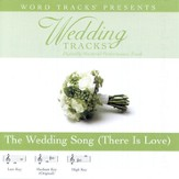 The Wedding Song - Medium key performance track w/o background vocals [Music Download]