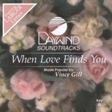 When Love Finds You, Accompaniment CD