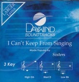 I Can't Keep From Singing, Accompaniment CD
