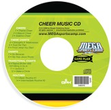 MEGA Sports Camp Game Plan Cheer Music CD