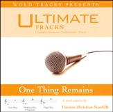One Thing Remains (Medium Key Performance Track With Background Vocals) [Music Download]