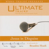 Jesus In Disguise (Medium Key Performance Track With Background Vocals) [Music Download]