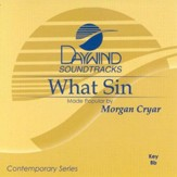 What Sin, Accompaniment CD