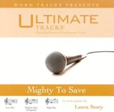 Mighty To Save - Low Key Performance Track w/ Background Vocals [Music Download]