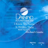 I Know My Name Is Written There, Accompaniment CD