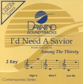 I'd Need A Savior, Accompaniment CD