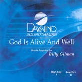God Is Alive And Well, Accompaniment CD