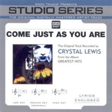Come Just As You Are, Accompaniment CD