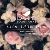 Colors of the Wind, Accompaniment CD