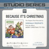 Because It's Christmas (Original Key Performance Track With Background Vocals) [Music Download]