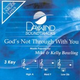 God's Not Through With You, Accompaniment CD