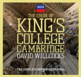 The Choir of King's College Cambridge, The Complete Argo Recordings (29 CDs)