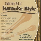 Gold City, Volume 2, Karaoke Style CD