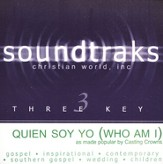 Quien Soy Yo (Who Am I), Accompaniment CD