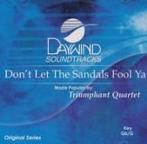 Don't Let The Sandals Fool Ya, Accompaniment CD