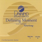 Defining Moment, Accompaniment CD