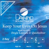 Keep Your Eyes On Jesus, Accompaniment CD
